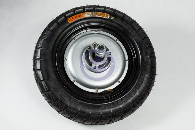 "Complete motorized wheel witch 16"" tire, integrated with BLDC 2kW /48V"