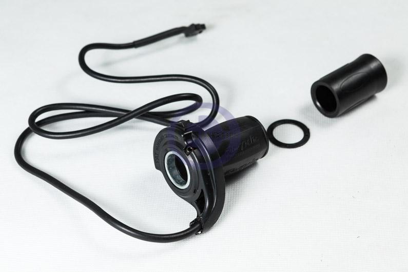 Manetka przyspiesznika hallotronowego motocyklowa, dzielona ze wskaźnikiem LED 48V i włącznikiem