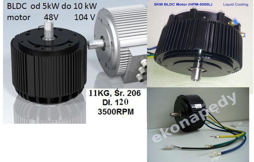 BLDCH 8,6kW 72V