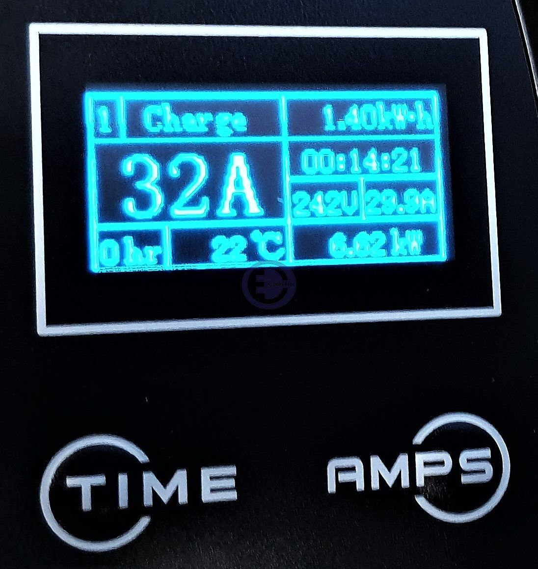 OLED display view 32A